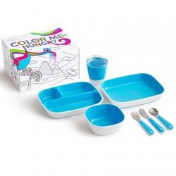 Pack vajilla Splash con caja para pintar (munchkin)