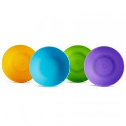 Pack cuencos multicolor modern (4 ud.) (munchkin)