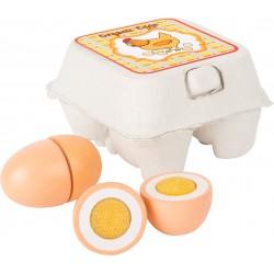 Huevos de madera (small foot)