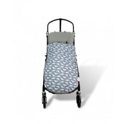 Saco para carrito universal cotton, WHALES