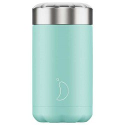 CHILLY TERMO SOLIDO MENTA PASTEL 500ML