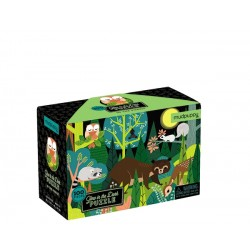 Glow in Dark Puzzle/In The Forest 100 pc