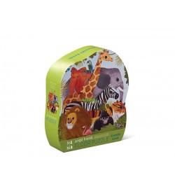 Puzzle Shaped Jungle Friends 36 pc