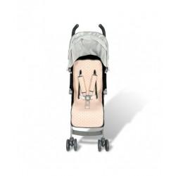 Colchoneta universal para carrito LITTLE FUN PEACH (FUNDAS BCN)