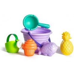 Set de juguetes de playa 6 piezas