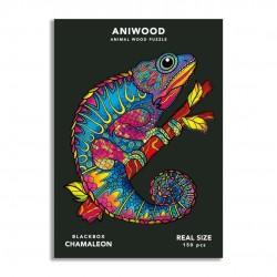 Puzle Aniwood Camaleón M